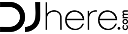 DJhere.com logo